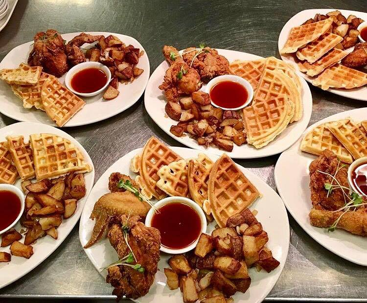 Monsoon Chicken and Waffles